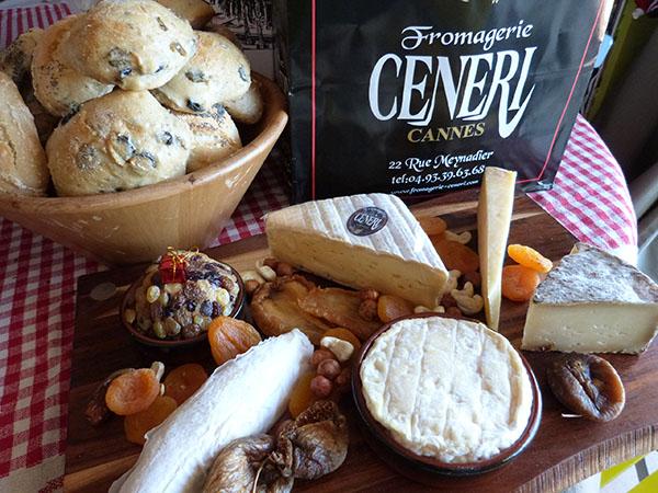 les fromages de chez Cénéri