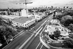 Camperdown City Skyline B&W-6
