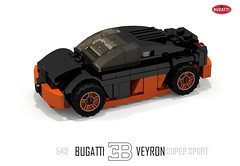 Bugatti Veyron Super Sport (1:42)