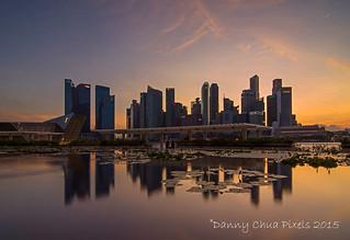 Singapore Sunset @ CBD