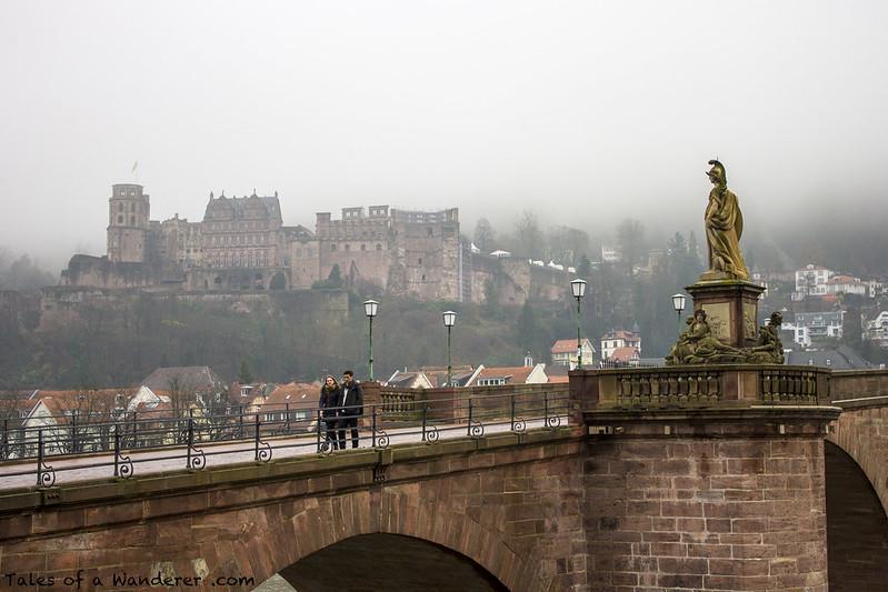 HEIDELBERG - Heidelberger Schloss / Alte Brücke