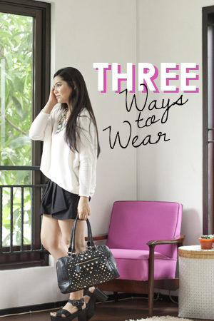 Three Ways To Wear