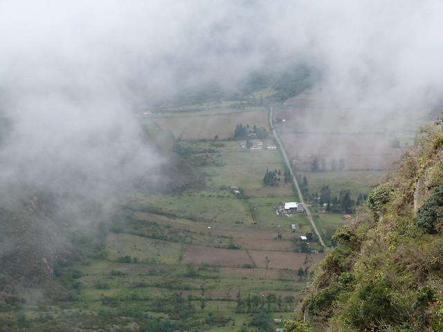 Cráter del volcán Pululahua (Ecuador)