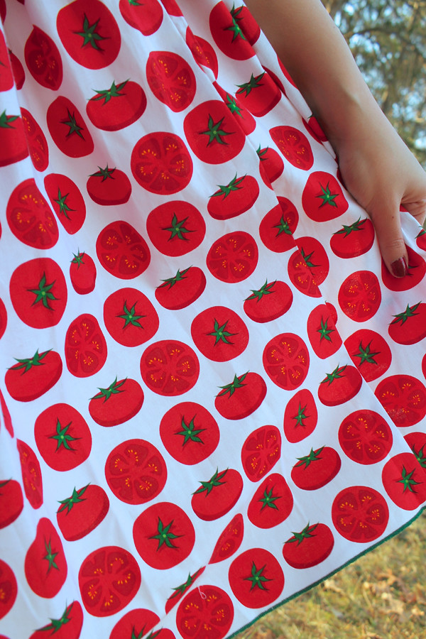 bernie dexter tomato dress