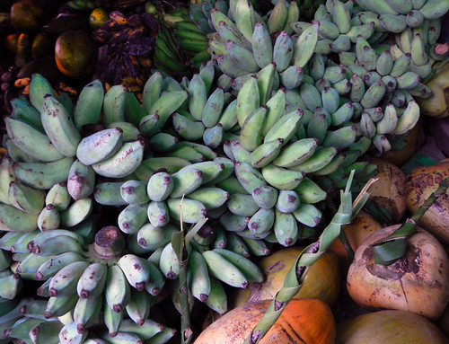Bananas for Sale at the Inle Lake Market (Myanmar)