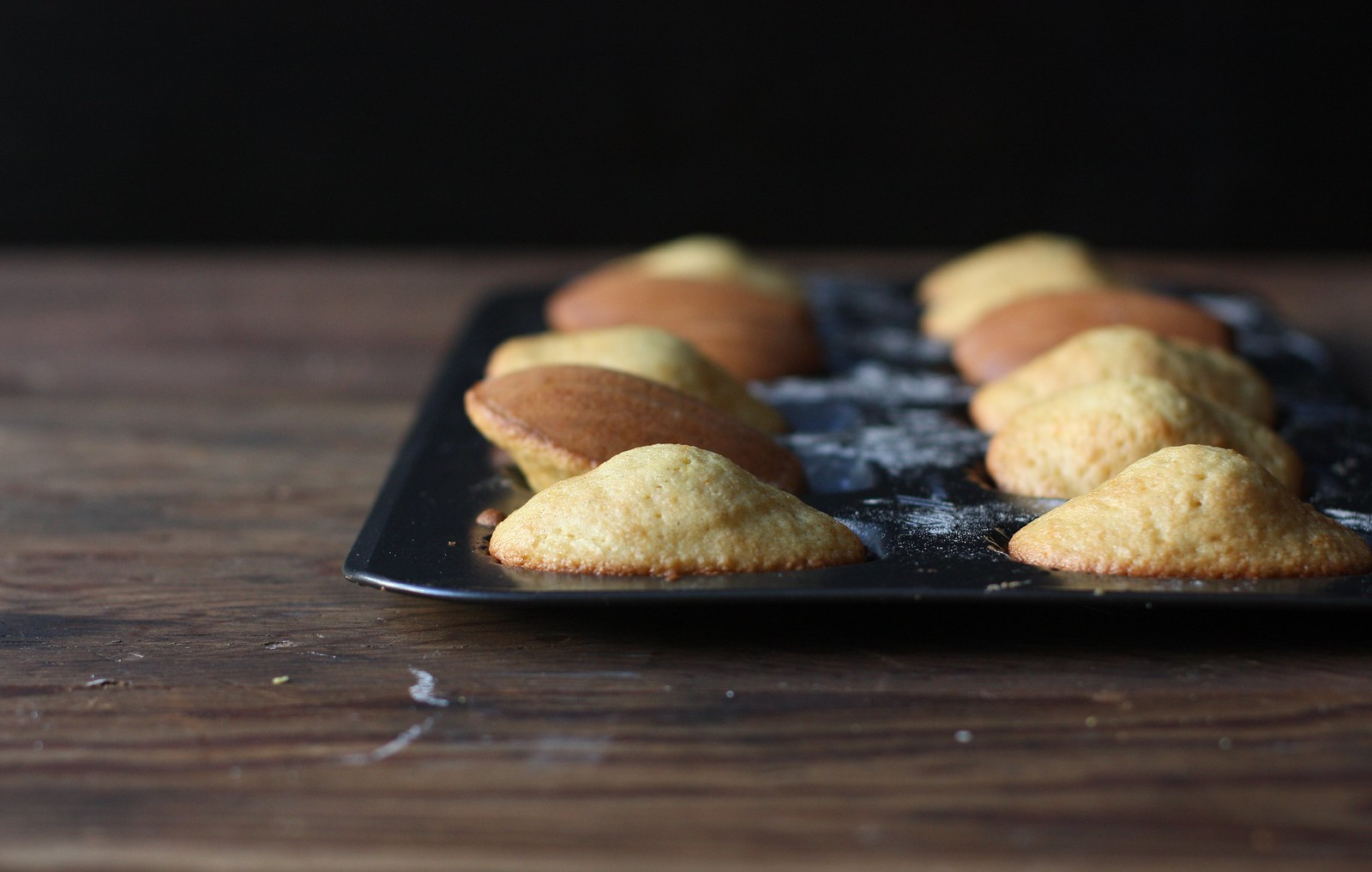 Orange Saffron Madelines- BEST BASIC MADELINE RECIPE