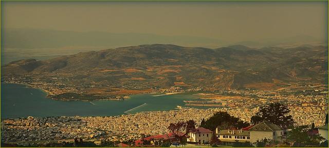 Θεα από τον •Άνω Βόλο• -  Panorámica desde la localidad de Alto Volos
