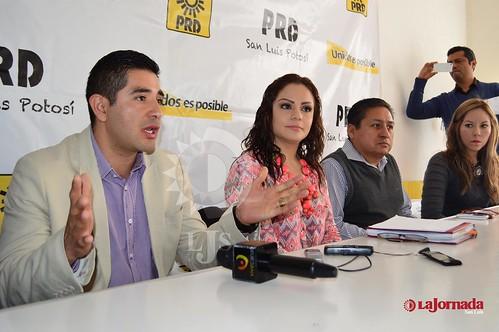 Presenta PRD de forma oficial a precandidatos a la alcaldía San Luis, Soledad y diputaciones locales