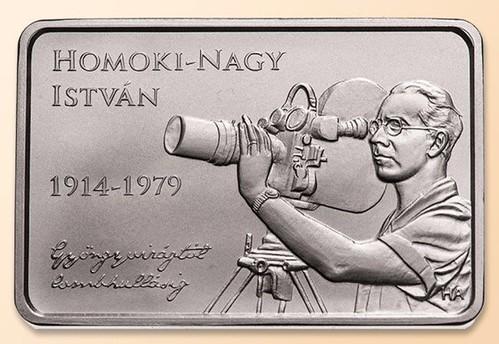 Hungary 2000 Forint Coin on Istvan Homoki-Nagy obverse