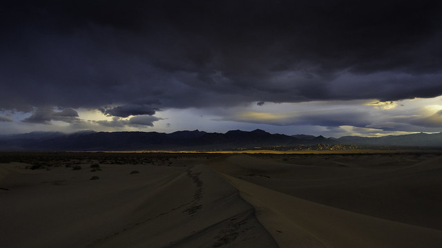 Stormy Mesquite Sunrise