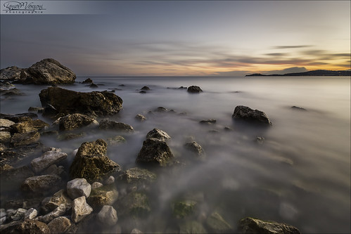 longexposure sunset sea sky mer france clouds seaside rocks stones ciel pierres nuages 06 coucherdesoleil rochers 6d méditerranée alpesmaritimes 1635mm borddemer poselongue soleilcouchant nd1000 ezesurmer