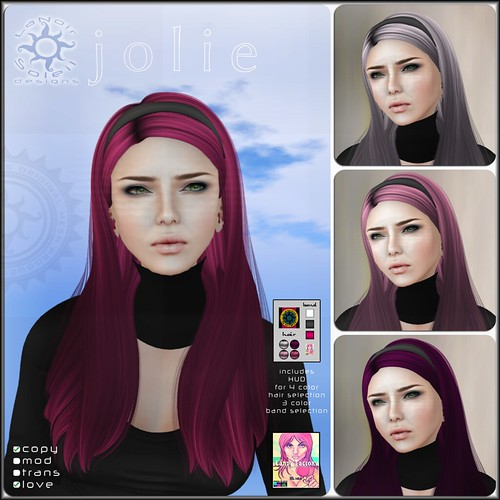 [LNS Designs] Jolie - The Candy Factory Edition Mesh Hair