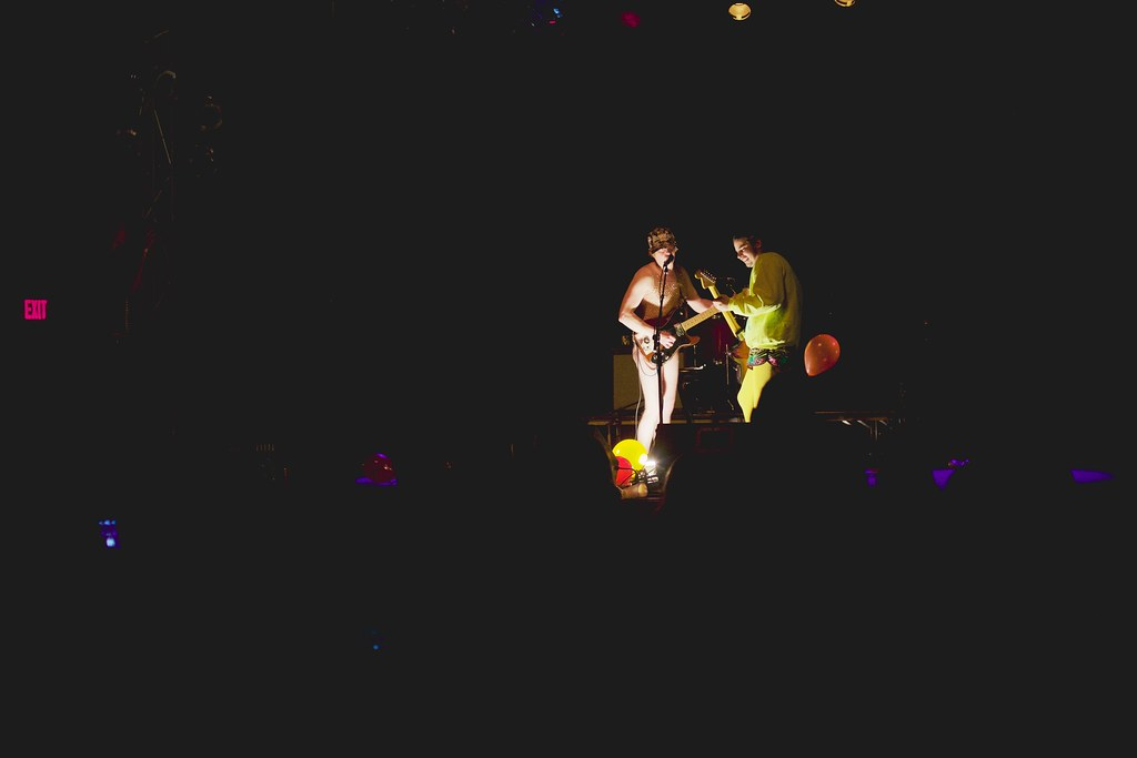 Universe Contest's Tim Carr and Joe Humpal at The Bourbon Theater - Take Cover | Jan. 30, 2015