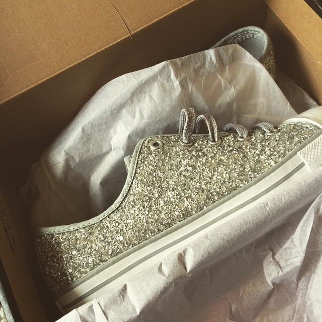 Moment of appreciation this grim sleety Tuesday please for my new sparkly shoes #JDStyle @jdsportsofficial