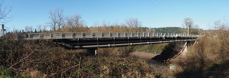 142nd Ave E Bridge: This carries one part of the White River Trail loop across said river