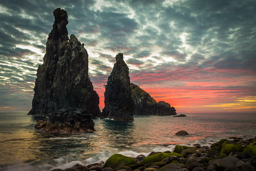 sea seascape clouds sunrise madeira hplovecraft madeiraisland ribeiradajanela cosmichorror weirdfiction