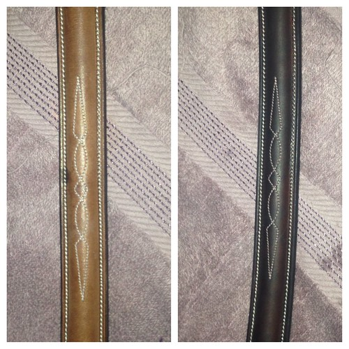 Before and after oiling