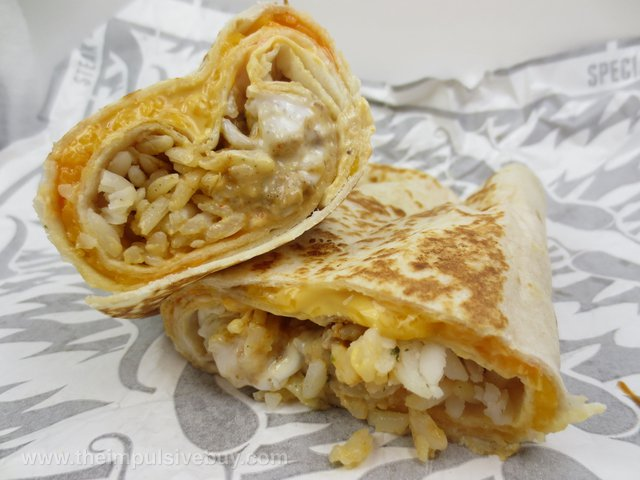 Review Taco Bell Sriracha Quesarito - The Impulsive Buy-5911