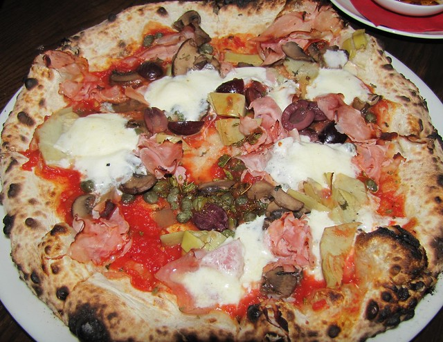 Capricciosa Pizza at Gusto