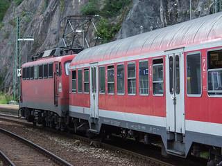 BR 110, DB AG  - Bahnhof Triberg