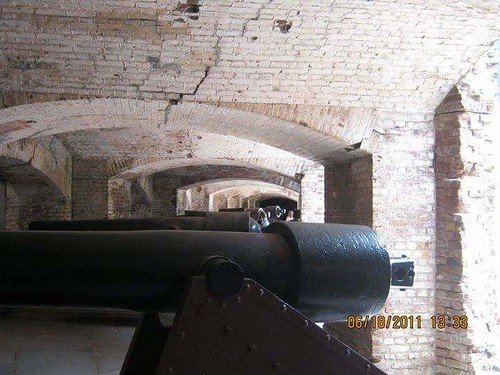 Guns of Fort Sumter South Carolina