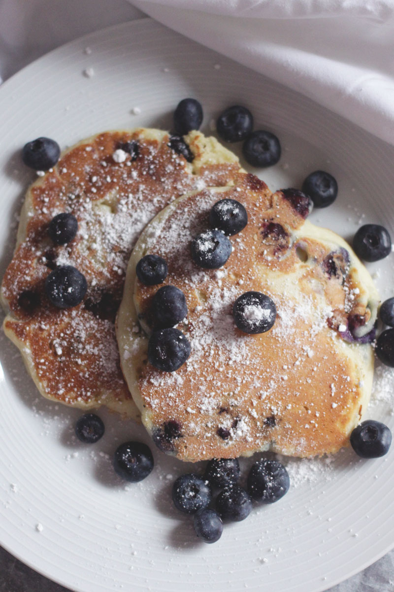 Blueberry Pancakes, Bumpkin Betty