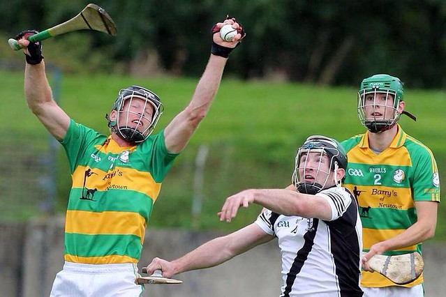 Shane Maher in action in the 2014 North Semi