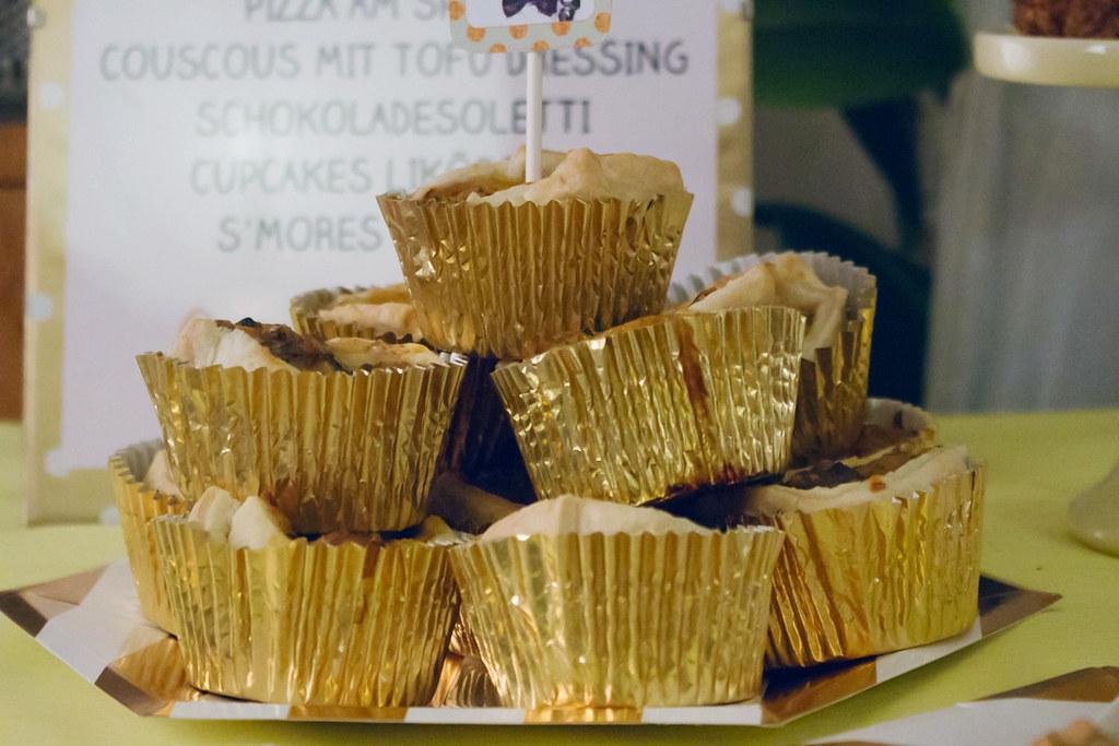 zwergenprinzessin macht fingerfood: lamm-zucchini muffins