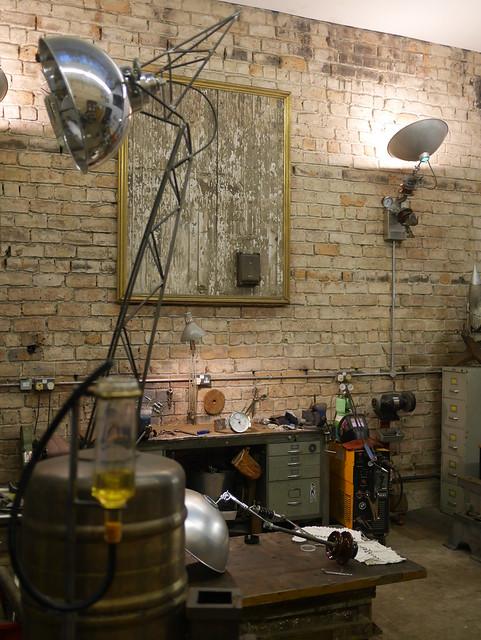 At The Studio of Al Blair - 7