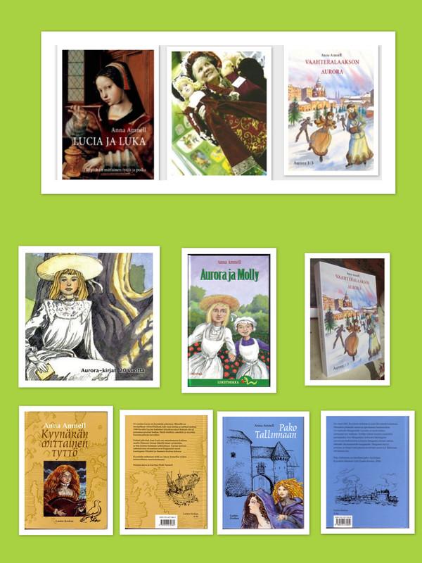 Aurora ja Lucia -kirjat