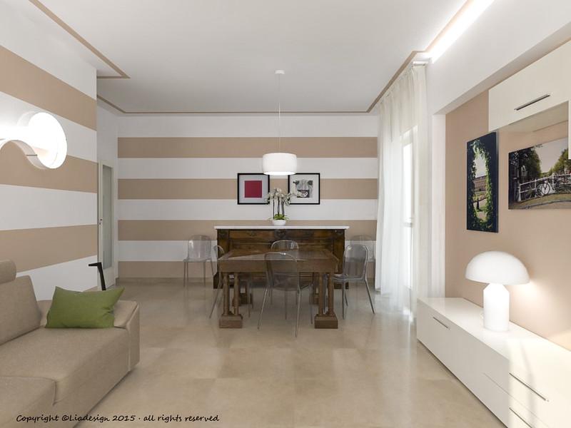 Pareti A Strisce Shabby : Pareti a strisce. awesome pareti a righe bianche e nere parete