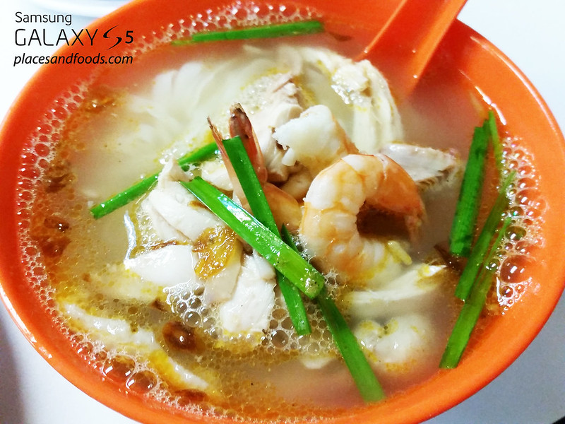 may king chicken kuey teow soup