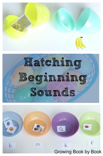 Hatching Beginning Sounds (Photo from Growing Book By Book)