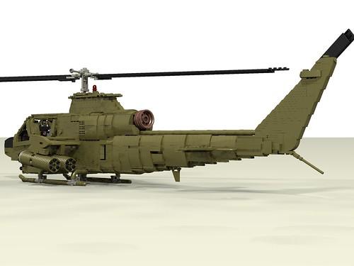 AH-1G Huey Cobra rear left