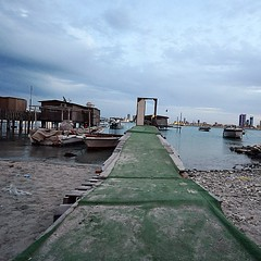 #pathway on the #coast in #bahrain #Muharraq #island #fishing #village
