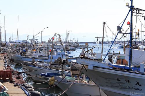Tsuyazaki fishing port