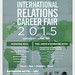 IR Career Fair Flyer by Los Angeles World Affairs Council-Young Profession