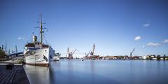Marieholm In Gothenburg Harbor