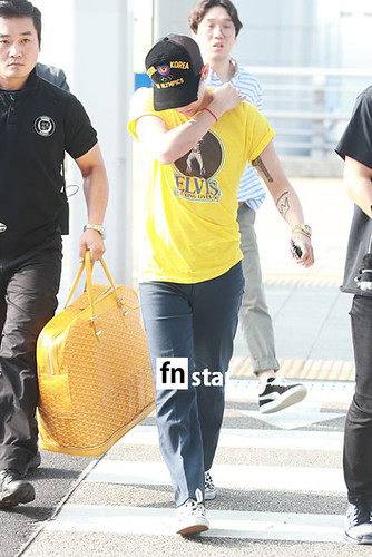 Big Bang - Incheon Airport - 07aug2015 - fnstar - 02