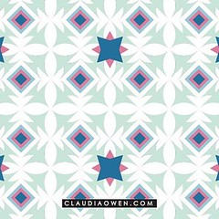 This pattern design will soon be available on some beautiful bags. I can't wait to see the end result! #artlicensing #pattern