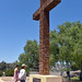 Serra Cross at Presidio Park in San Diego