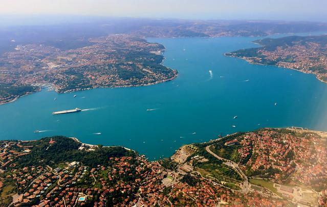 Bosphorus, looking north