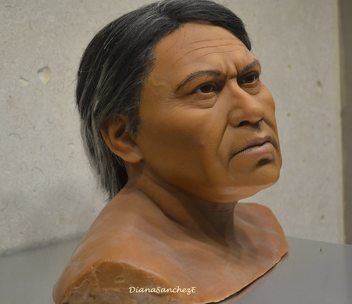 Reconstruccion cientifica del rostro de Bernardino Cen, aguerrido luchador en la guerra de las castas.