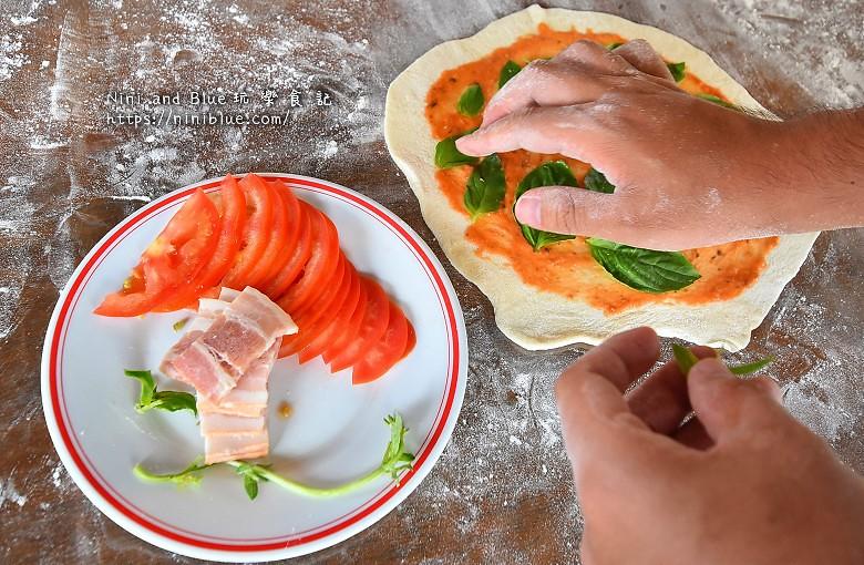 宜蘭安平冰店窯烤披薩DIY19