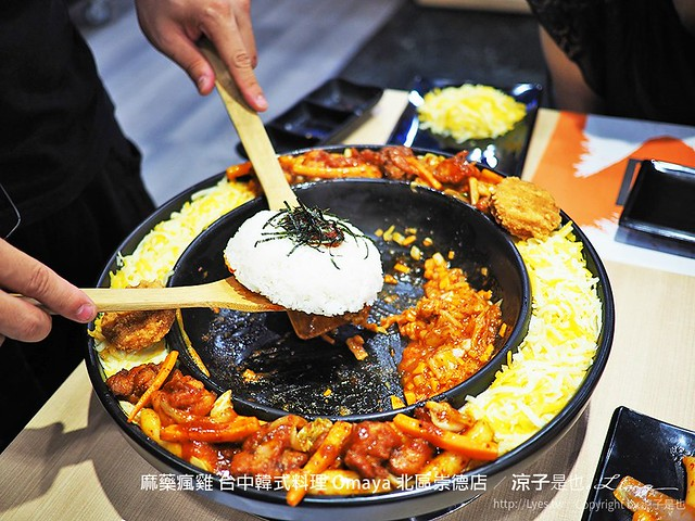 麻藥瘋雞 台中韓式料理 Omaya 北區崇德店 37