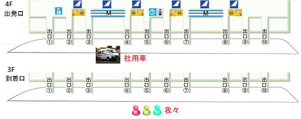 161021 スワンナプーム空港鬼ごっこ1