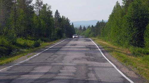 road summer leaves forest finland landscape geotagged leaf july kuusamo fin 2014 koillismaa 201407 kapustavaara vuotungintie 20140714 geo:lat=6602750533 geo:lon=2924895287