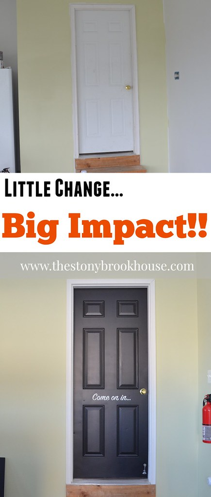 Garage Door Before and After