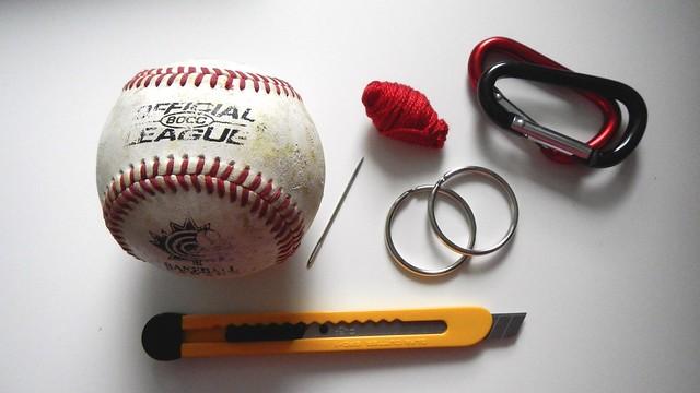 Baseball Keychain 1
