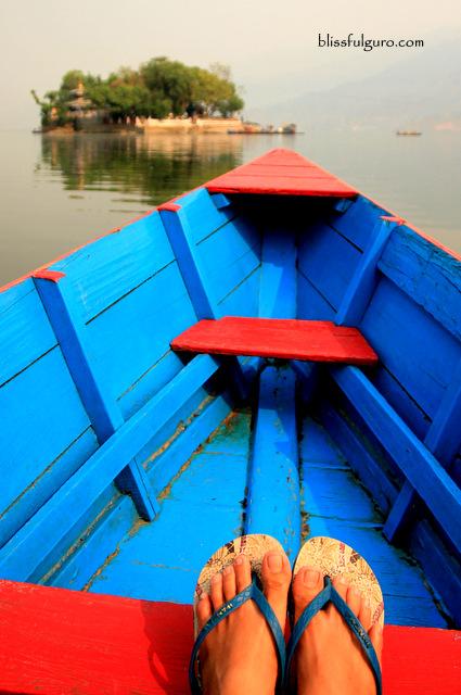 Pokhara Nepal Phewa Lake